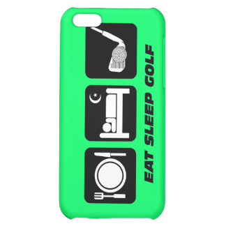 funny eat sleep golf iPhone 5C covers