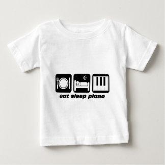 Funny eat sleep piano baby T-Shirt