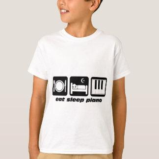Funny eat sleep piano T-Shirt
