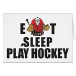 Funny Eat Sleep Play Hockey Goalie