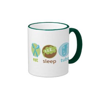 Funny Eat Sleep Tuba Mug Gift