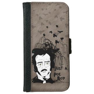 Funny Edgar Allan Poe Quote iPhone 6 Wallet Case