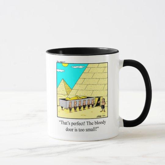 Funny Egyptian Architect Humour Mug
