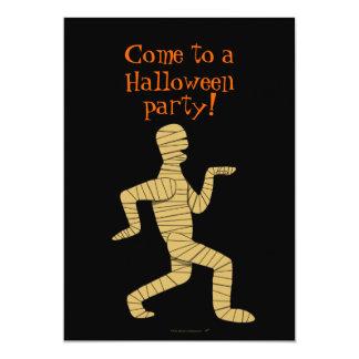 """Funny Egyptian Mummy Halloween Party Invitations 5"""" X 7"""" Invitation Card"""