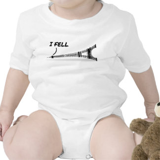 Funny Eiffel Tower Pun Baby Creeper