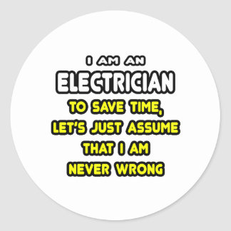 Electrical Stickers and Sticker Designs - Zazzle UK