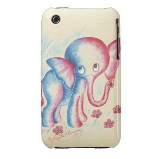 Funny Elephant iPhone 3 Covers