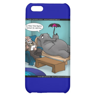 Funny Elephant In Therapy Cards Gifts Etc iPhone 5C Cases