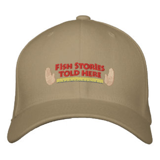 Funny Embroidered Fishing Hat Embroidered Hats