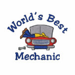 Funny Embroidered Mechanic Tees - Customise