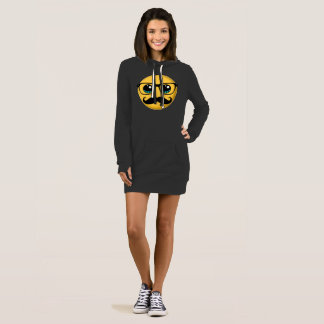 Funny Emoji Nerd with Mustache and Glasses Hoody