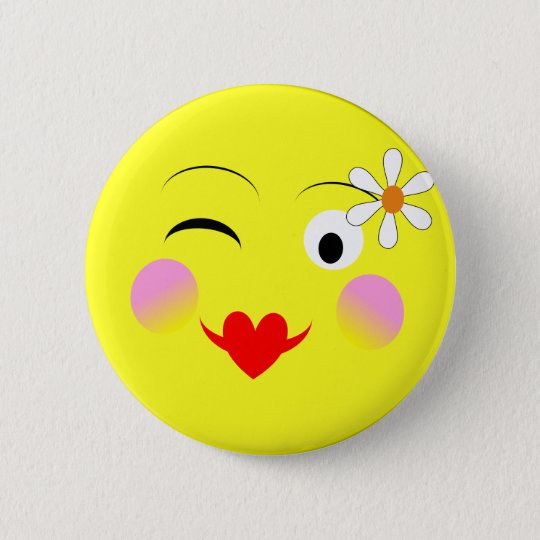Funny Emoji Style Smiley Faces Theme 6 Cm