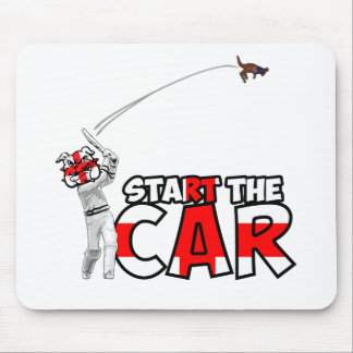 Funny England cricket Mouse Mat