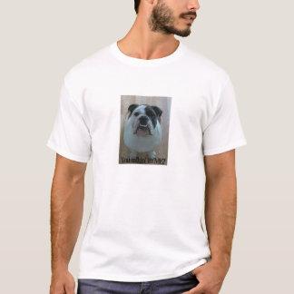 Funny English bulldog men's t-shirt