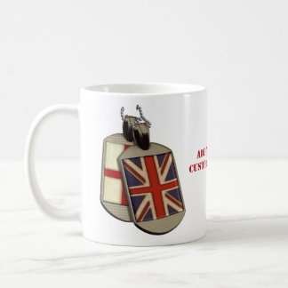 Funny English Dog Tags Basic White Mug