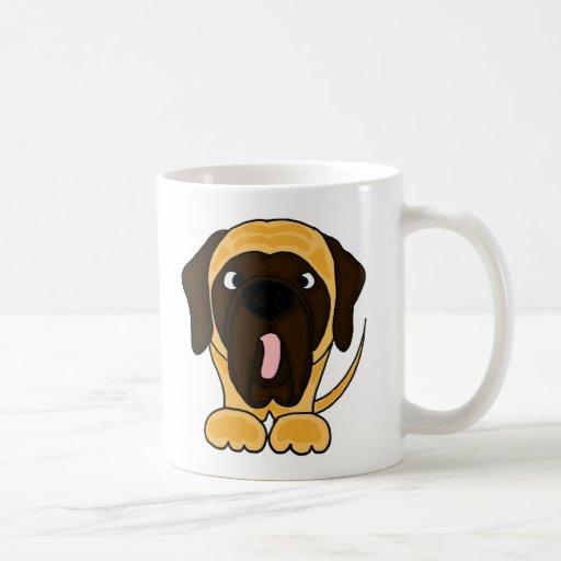 Funny English Mastiff Original Art Mugs