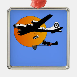 Funny Enola Gay Christmas Ornament