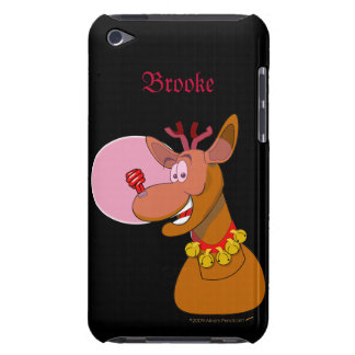 Funny Environmental CFL Christmas Skin iPod Touch Covers