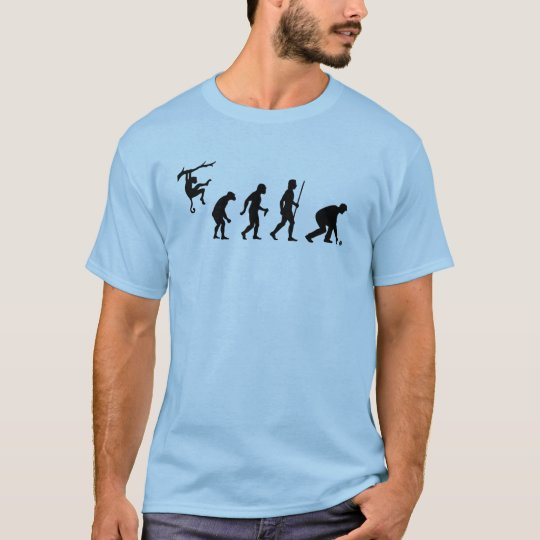 Funny Evolution of Lawn Bowls T-Shirt