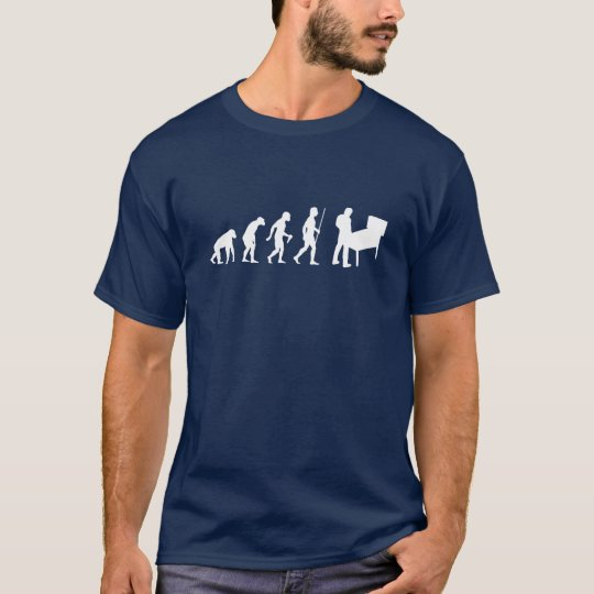 Funny Evolution of Man and Pinball T-Shirt