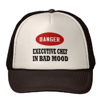 Funny Executive Chef Trucker Hat