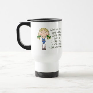 Funny Exercise Gift Coffee Mugs