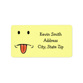 Funny Face Address Labels