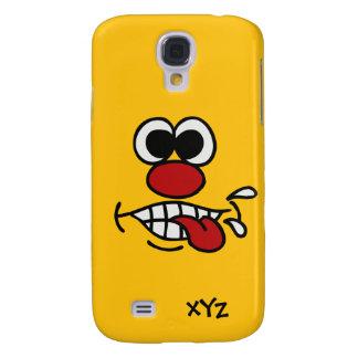 Funny Face custom cases Galaxy S4 Case
