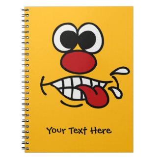 Funny Face custom notebook