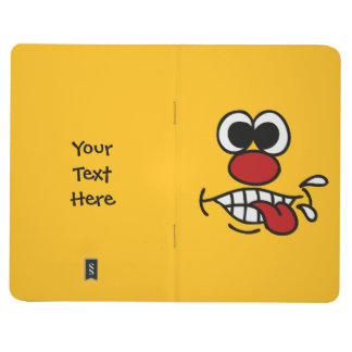 Funny Face custom pocket journal