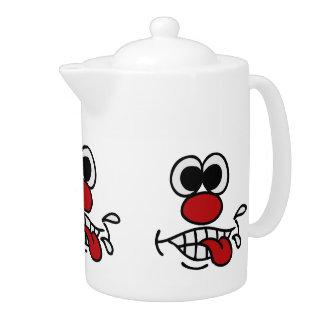 Funny Face custom teapot