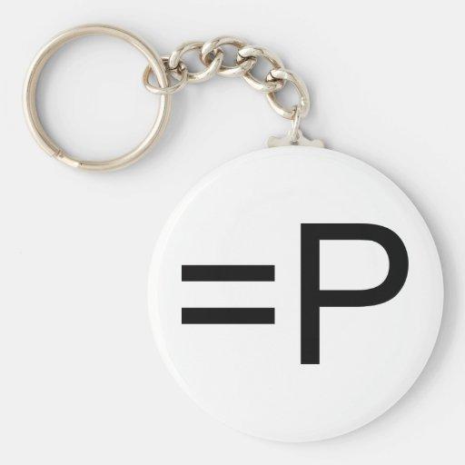Funny Face Emoticon! Key Chain