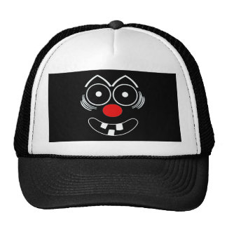 Funny Face Mesh Hats