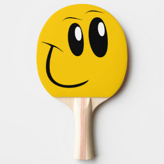 Funny Face Table Tennis Paddle