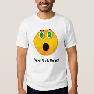 Funny face - The Dog T-shirt