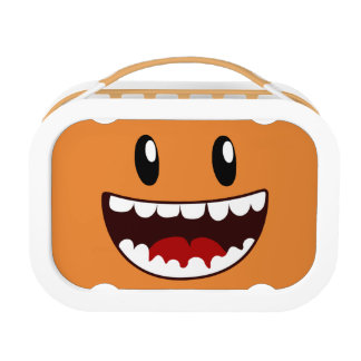 Funny Face Wide Mouth Lunch Box