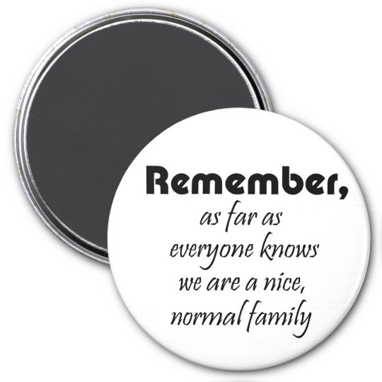 Funny family quote magnets novelty joke gifts