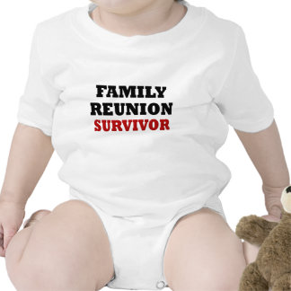 Funny Family Reunion Survivor Rompers