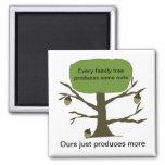 Funny Family Tree Fridge Magnet