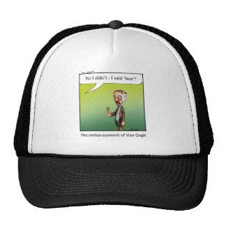 Funny Famous Artist Cartoon Gift Mesh Hats