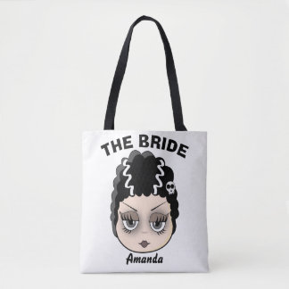 Funny famous bride tote bag