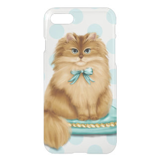 Funny Fancy Cat on Pillow iPhone 8/7 Case