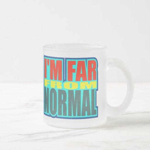 Funny Far From Normal T-shirts Gifts Mug
