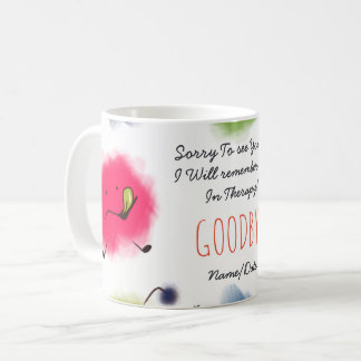 FUNNY Farewell Colleague Mug - Seeing a Therapist