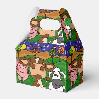 Funny Farm Animals Gift Box