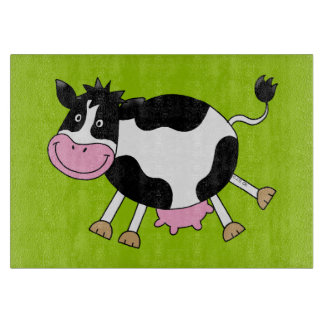 funny farm cow cutting board