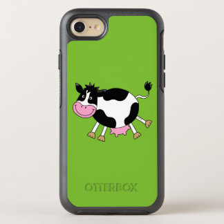 funny farm dancing cow OtterBox symmetry iPhone 7 case