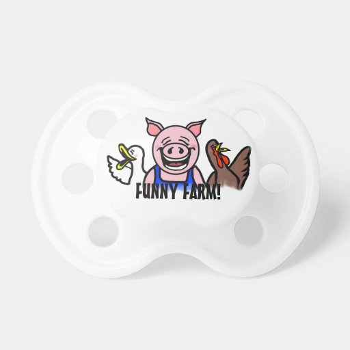 Funny Farm Pacifier