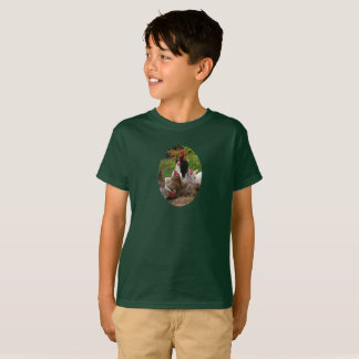 Funny Farmyard Chickens Hens & Rooster Boy's Tee