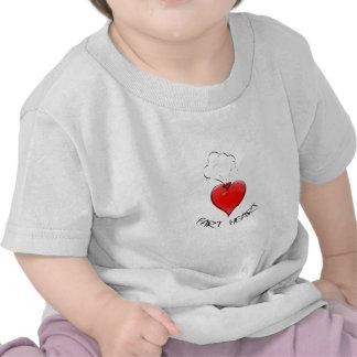 Funny Fart Heart T Shirt
